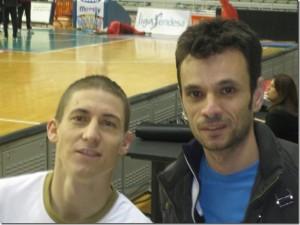José Carlos Rico y amigo