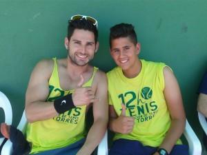 Sergio Martí y Luis
