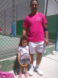 Pernias e hija