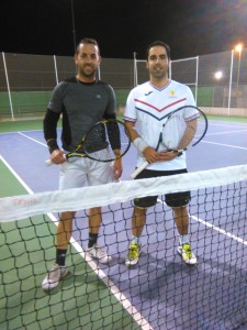 Juan Antonio y Sergio Cerezo